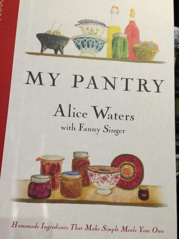 Alice Waters new book just released